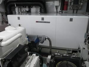 NL M1066A1 generator on board MY Odessa